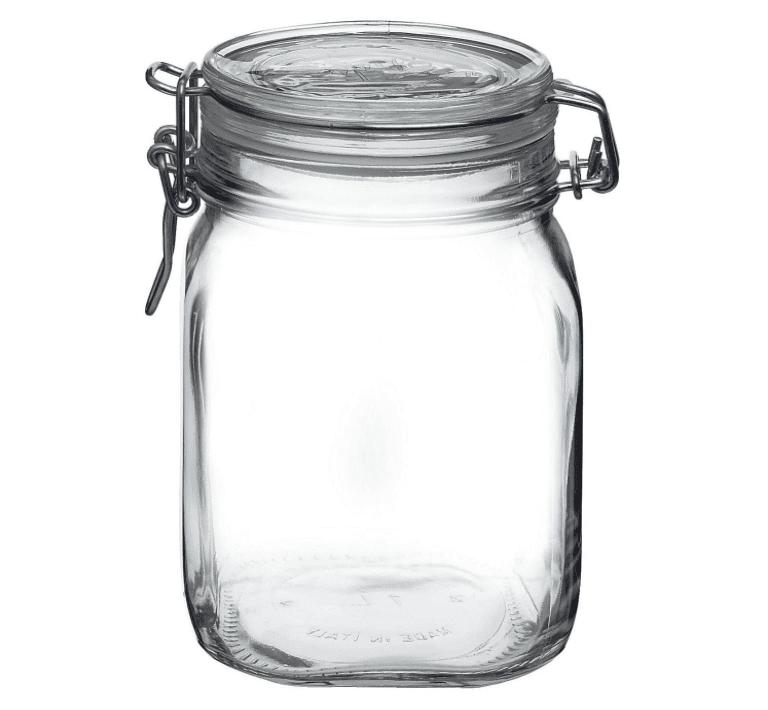 hermetic jar