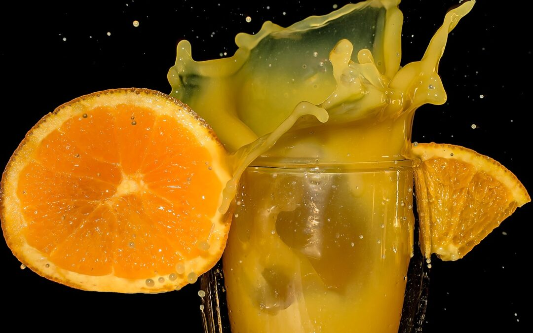 how much juice in one orange